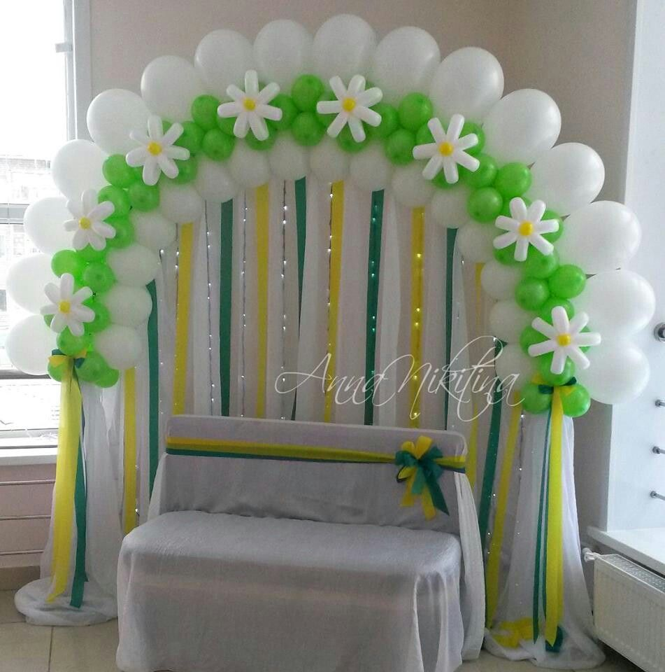 Pin by rochelle price balloon events melbourne on for Balloon arch decoration