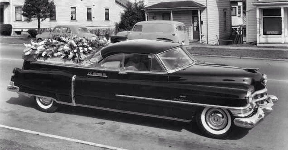 funeral flowers for car enthusiast