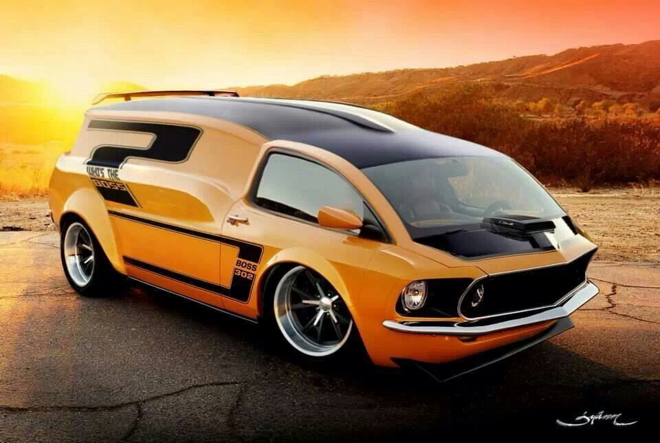 Mustang Van Weird Cars Amp Other Vehicles I Like Pinterest