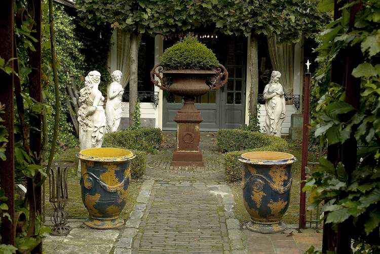 French garden gardening pinterest - French style gardens ...