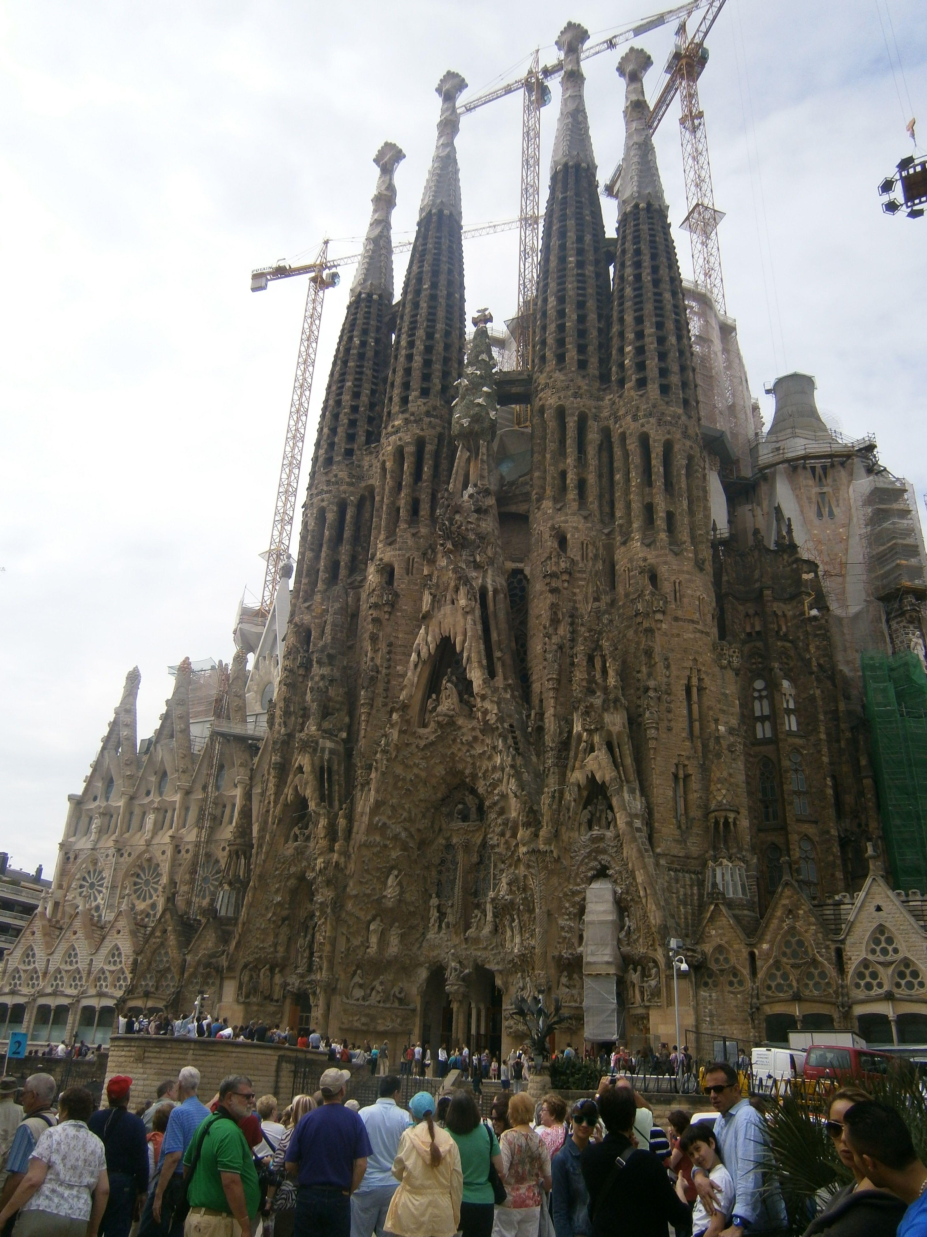 La sagrada familia barcelona spain places i 39 ve been for La sagrada familia spain