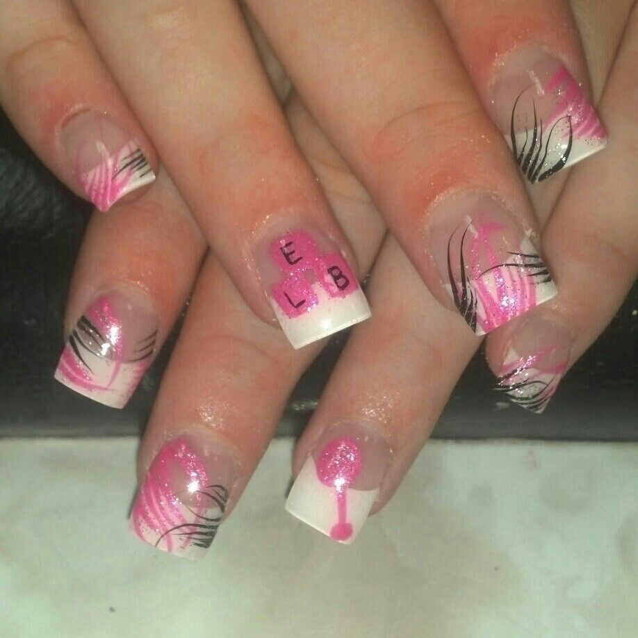 baby shower nails nails pinterest