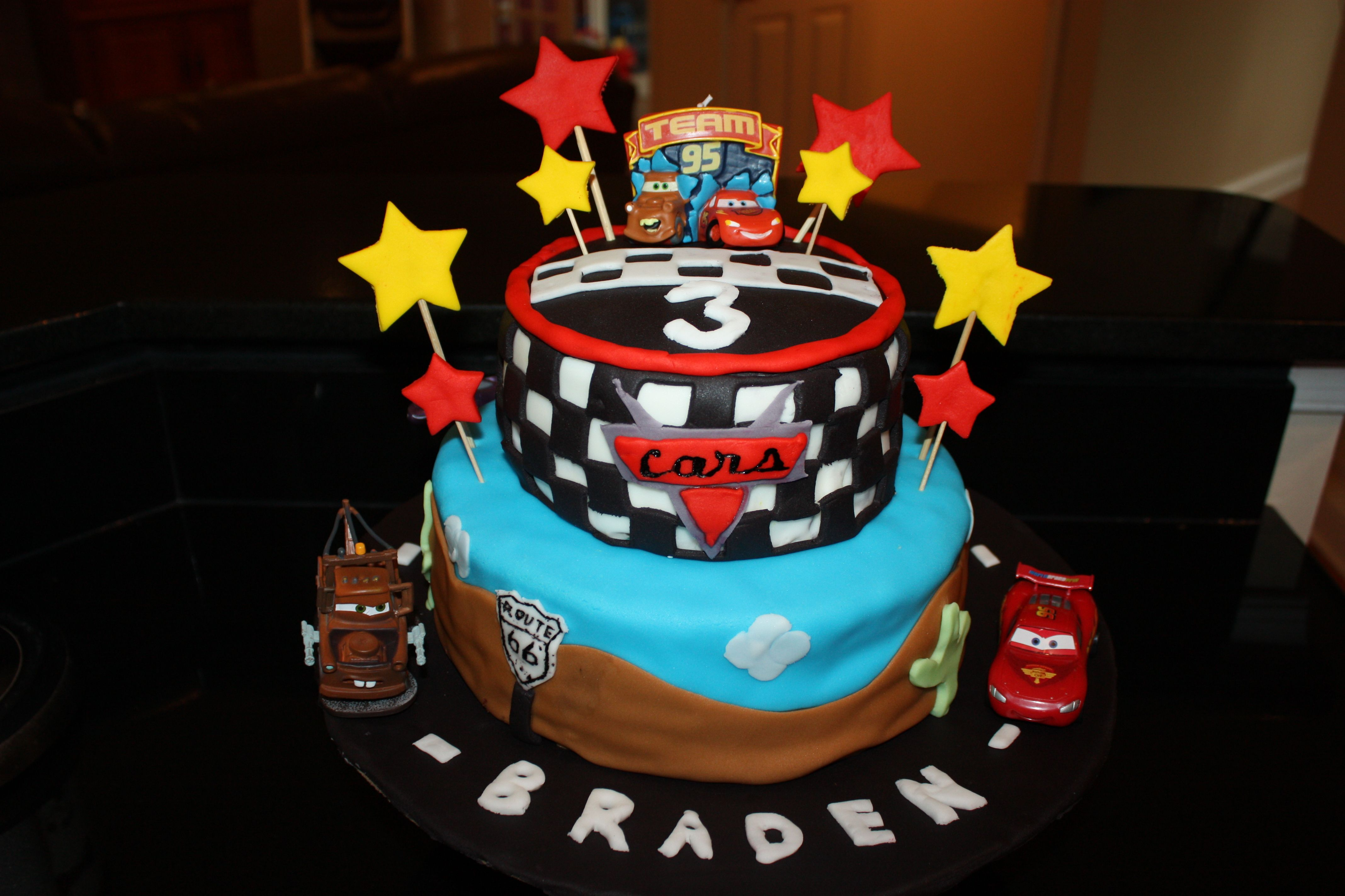 Cake Design Cars Disney : Disney Cars cake Cake ideas Pinterest