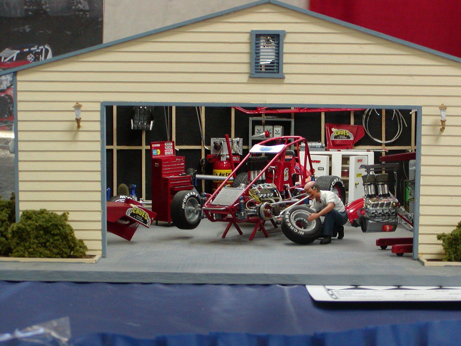 Model car garage plans