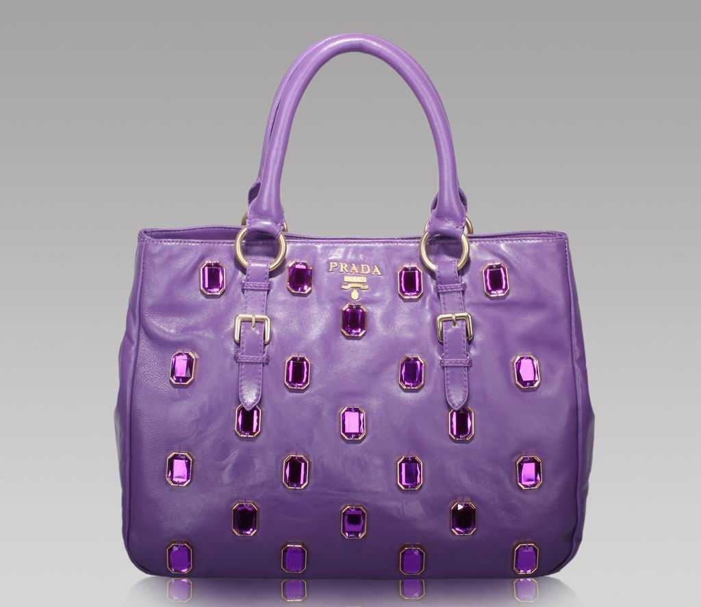 Lavender Prada | Beautiful Handbags