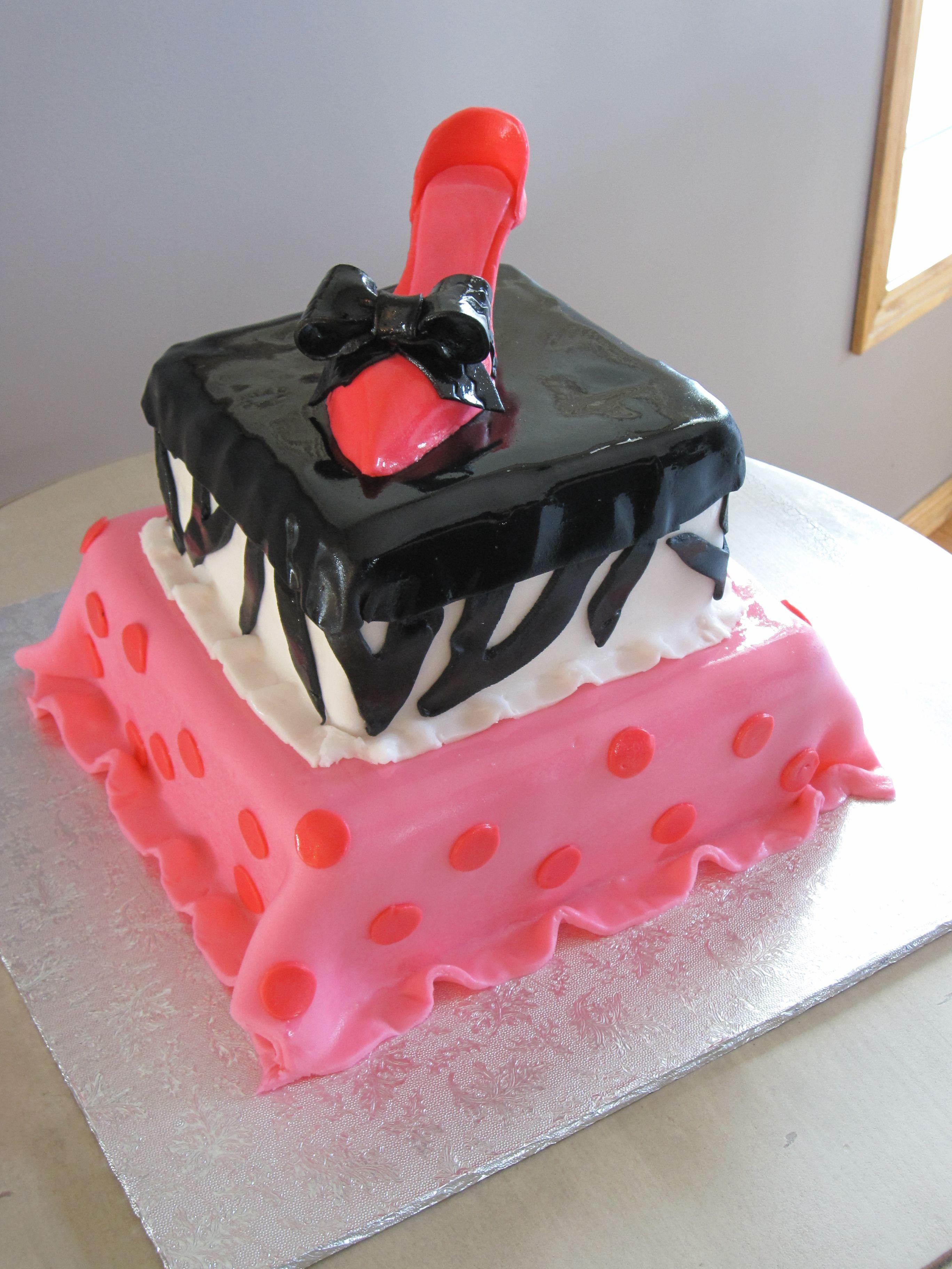 high heel shoe birthday cake edible shoes and bags
