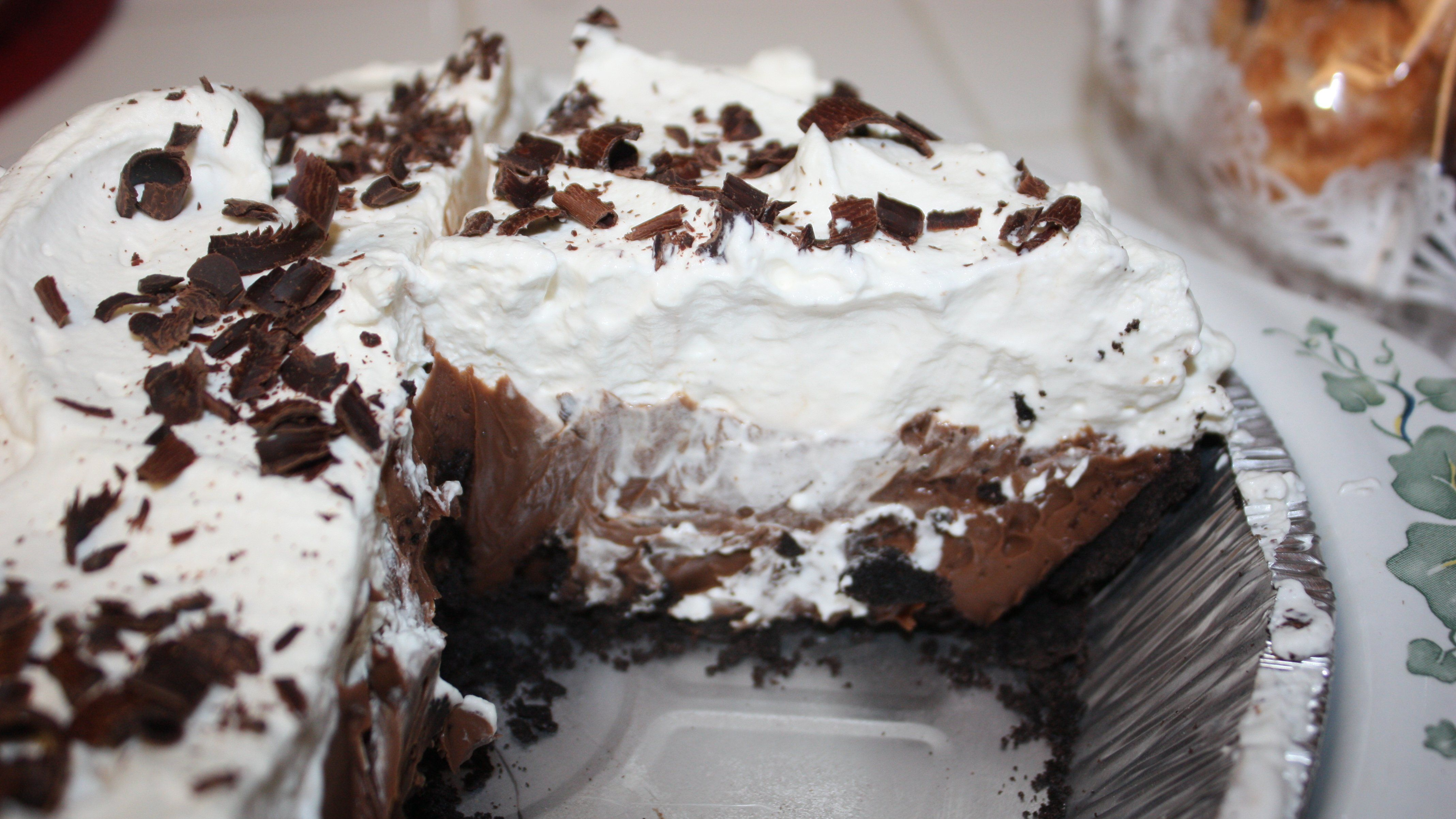 Chocolate Chiffon Pie | Recipes From Debi's & Ron's Kitchen | Pin...