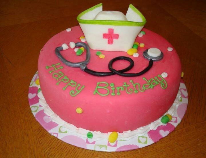 Birthday Cake For Nurse Image Inspiration of Cake and Birthday