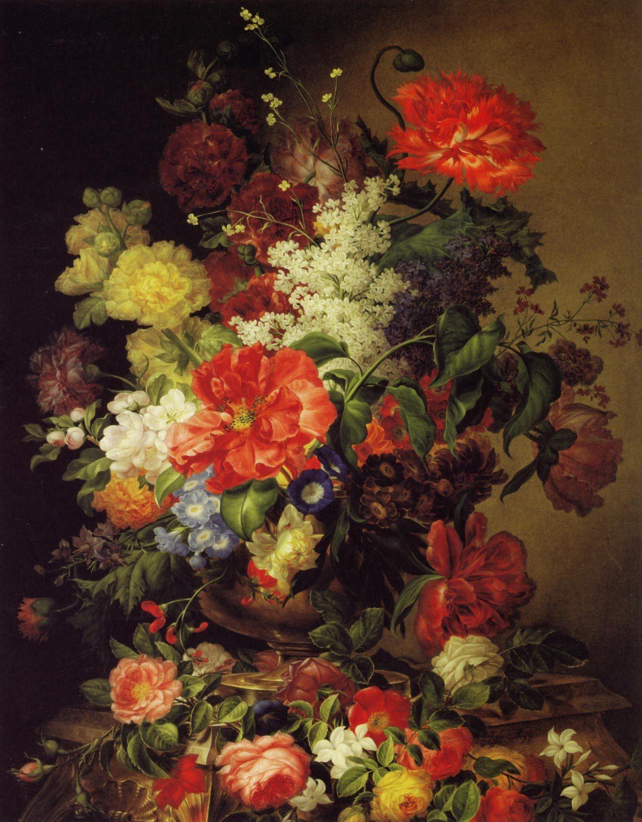 Baroque style arrangement Flowers Pinterest