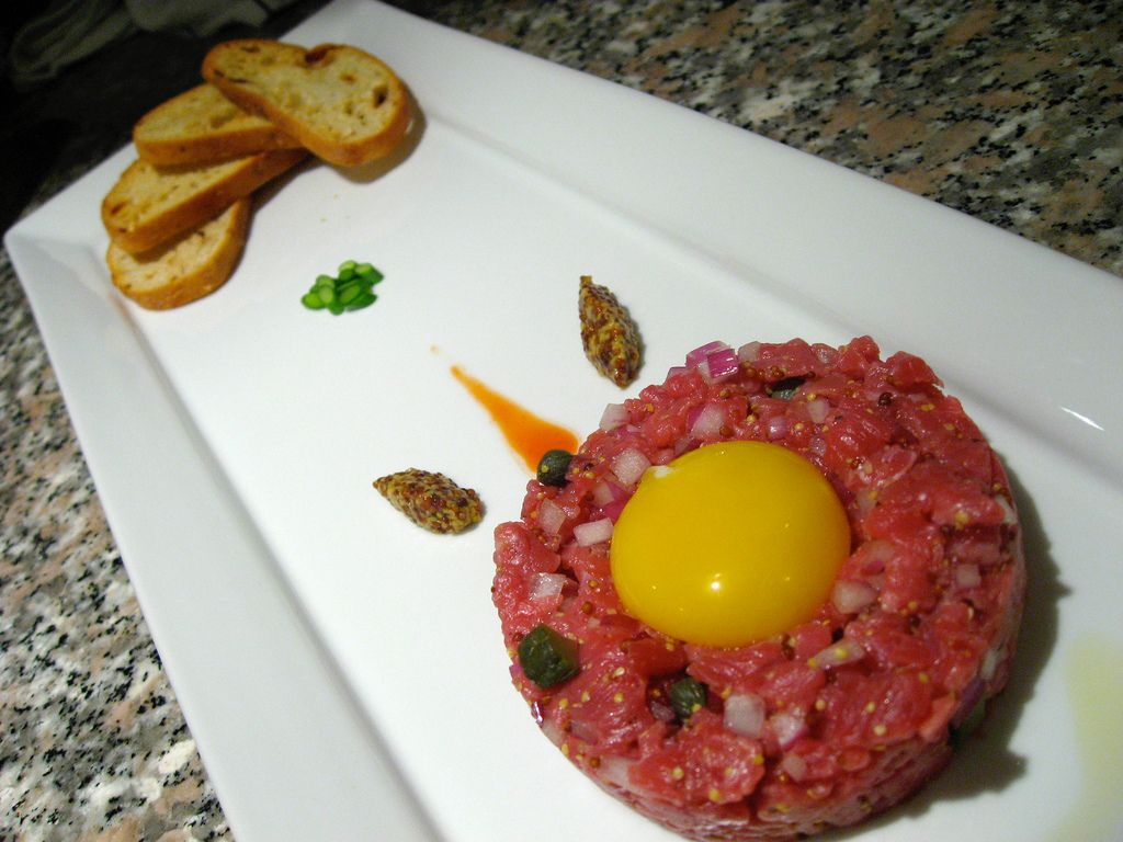 Classic Steak Tartare | Chef Ron Hillger | Pinterest