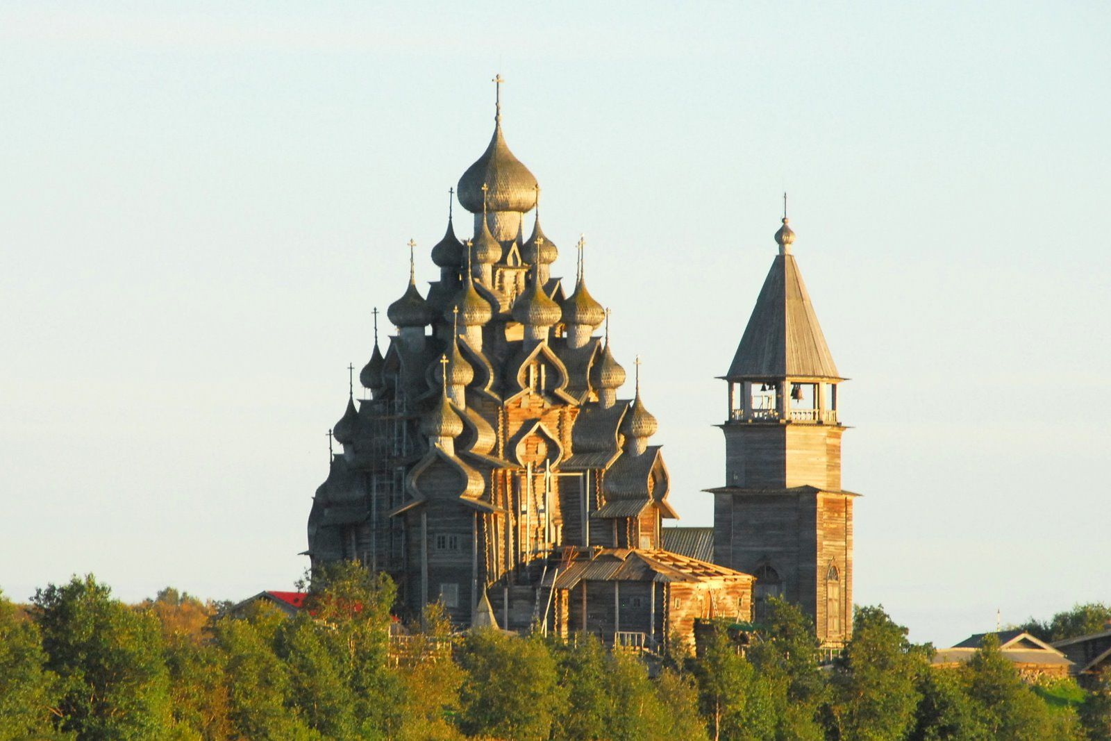 Cathedral of the transfiguration kizhi si architecture for Architecture si