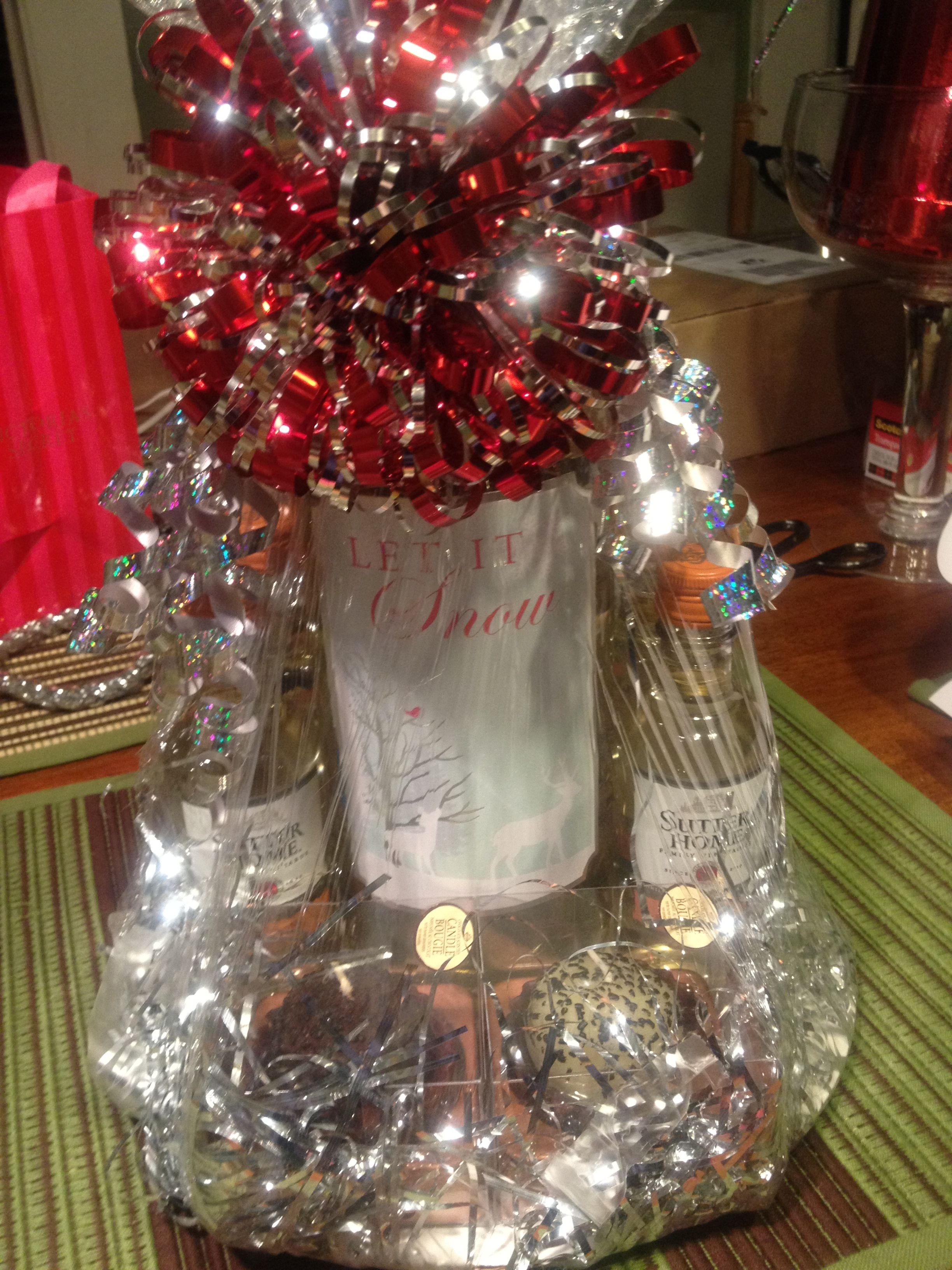 Wine Grab Bag Gift I Made This Pinterest
