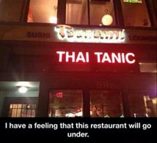 Thai Tanic Meme
