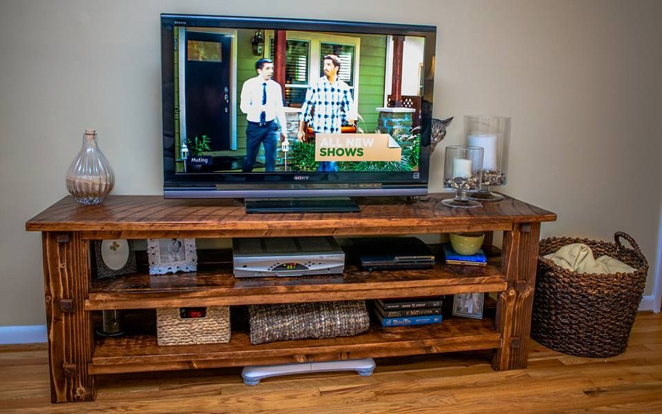 Beautiful DIY Tv Stand DIY lovehome For The Home Pinterest