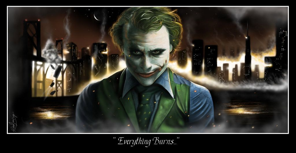 Everything Burns by latent-talent | Batman | Pinterest