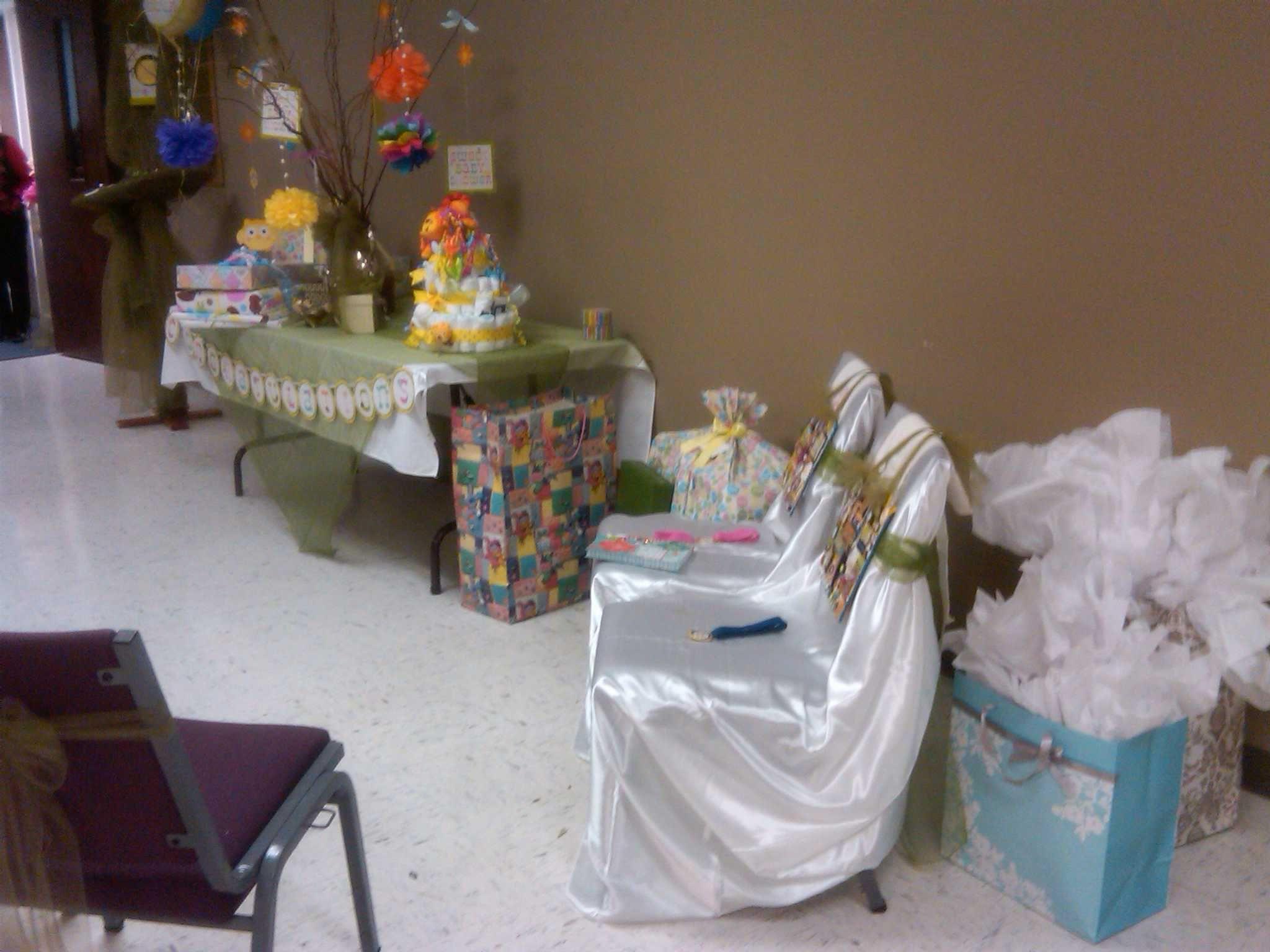room set up sweet baby shower pinterest