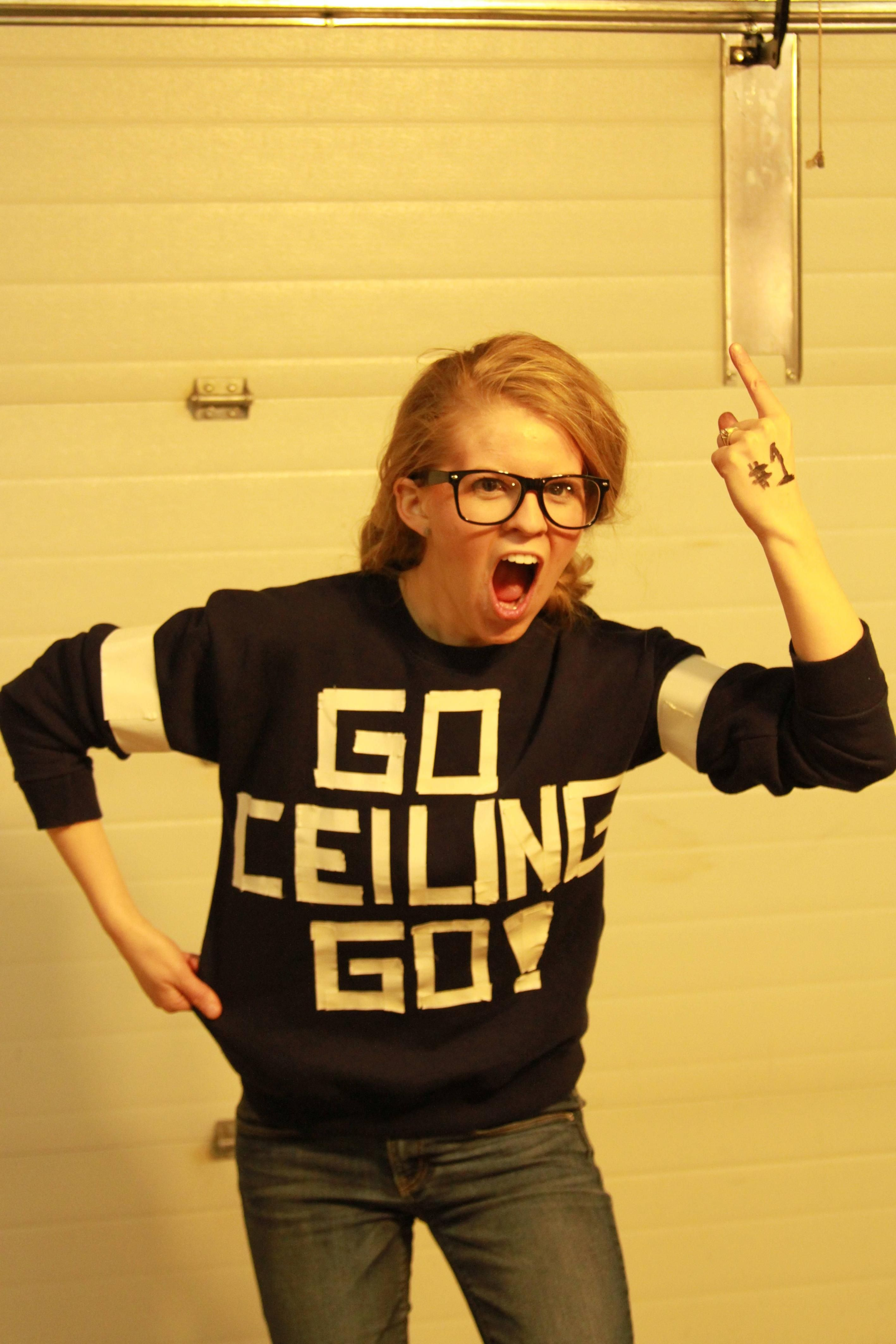 Ceiling Fan costume. | put dese on. | Pinterest