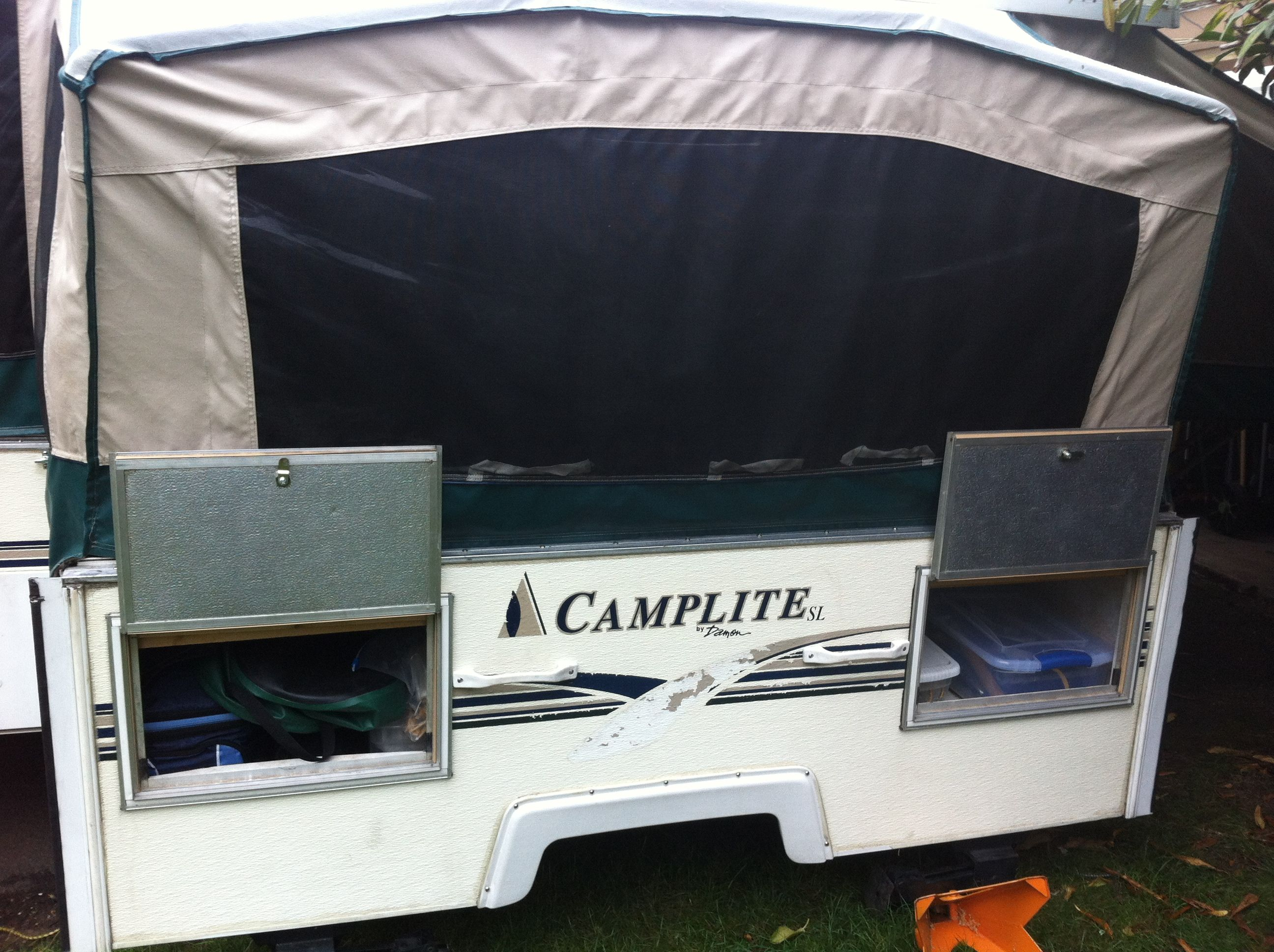 Pin by Jaci on Pop up tent trailer camper ideas amp; modifications Pin
