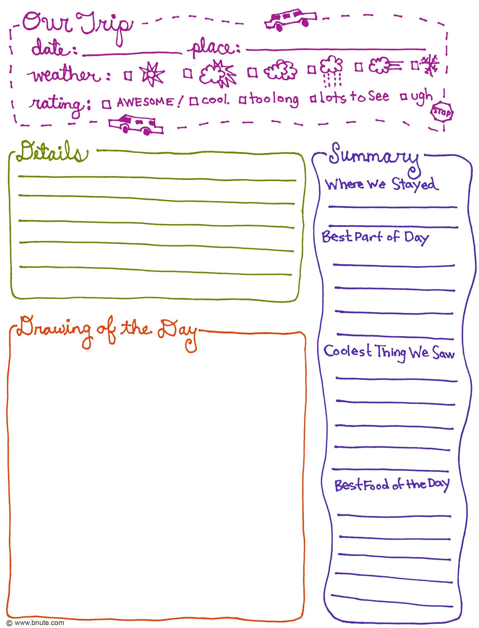 Daily Journal Sheets Printable,Journal.Printable Coloring Pages ...