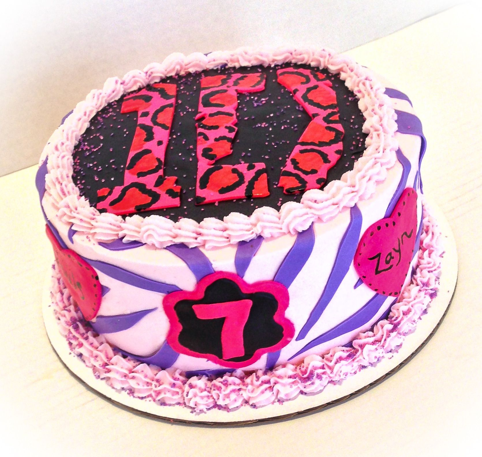 Cakes For Girls 13th Birthday One Direction | www.pixshark ...