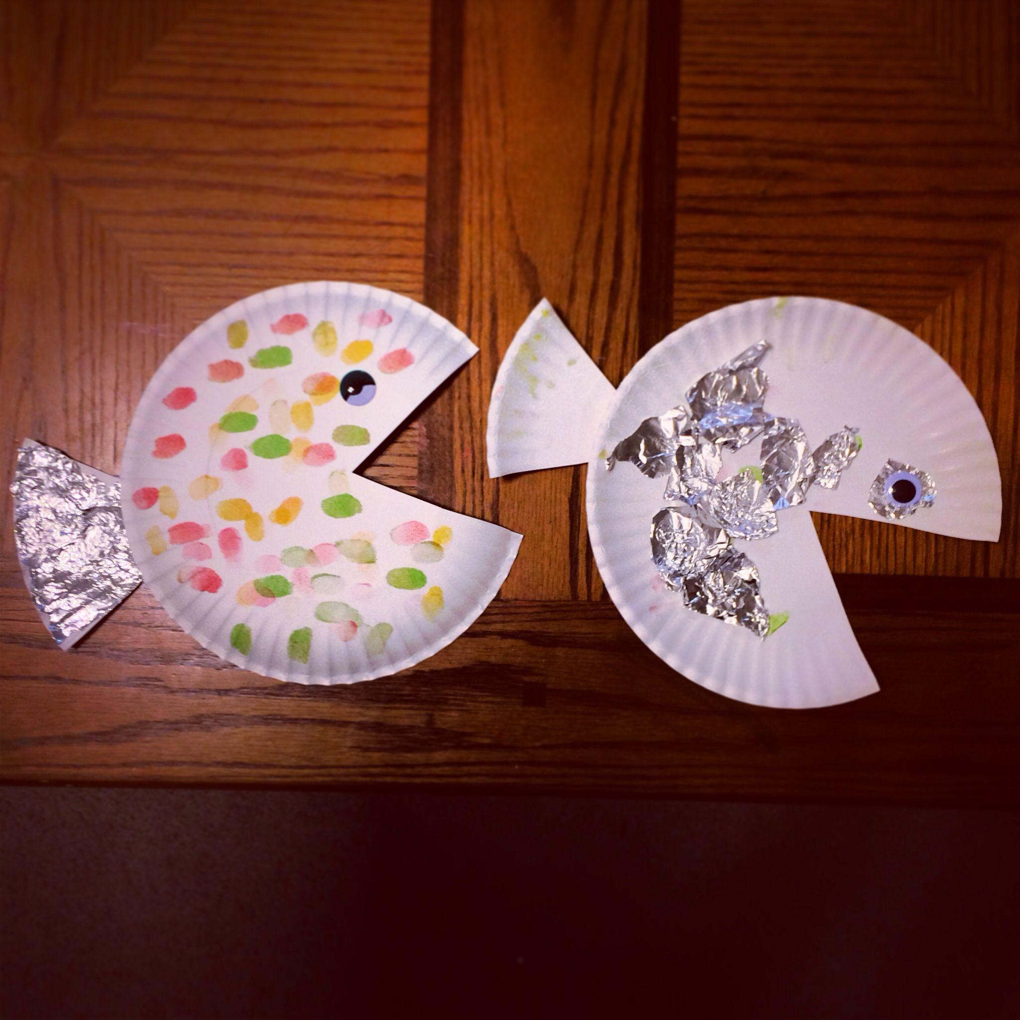 fish plate craft creativesitters paper plate crafts pinterest