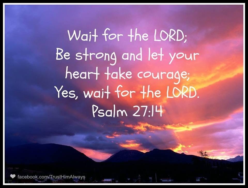 Wait on god! | Bible verses | Pinterest