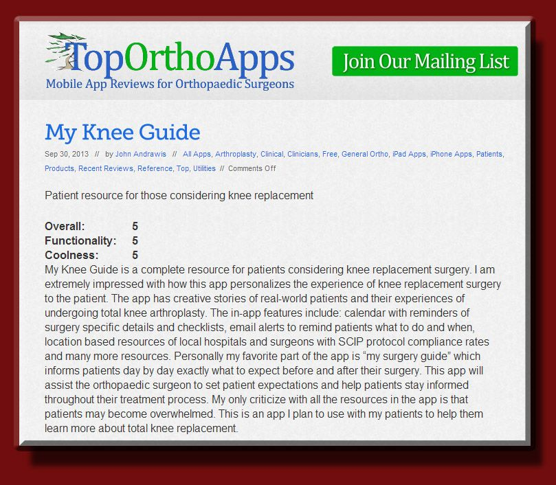 Pin By My Knee Guide On My Knee Guide Knee Replacement