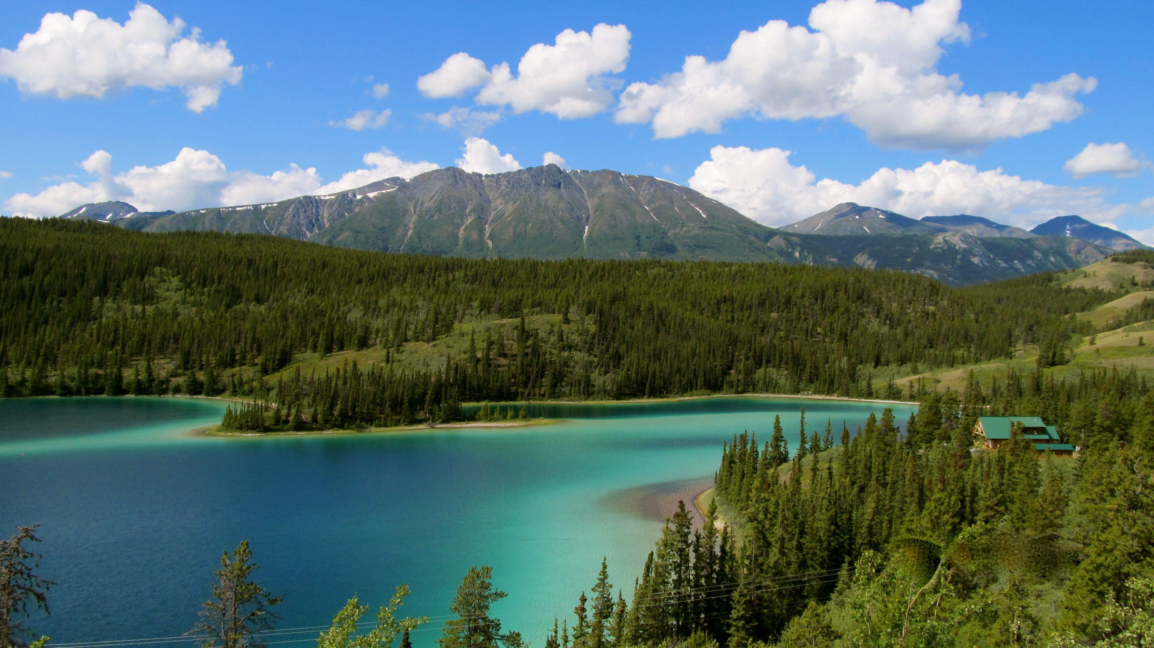 Emerald Lake, Whitehorse, Yukon Photograph by Mike