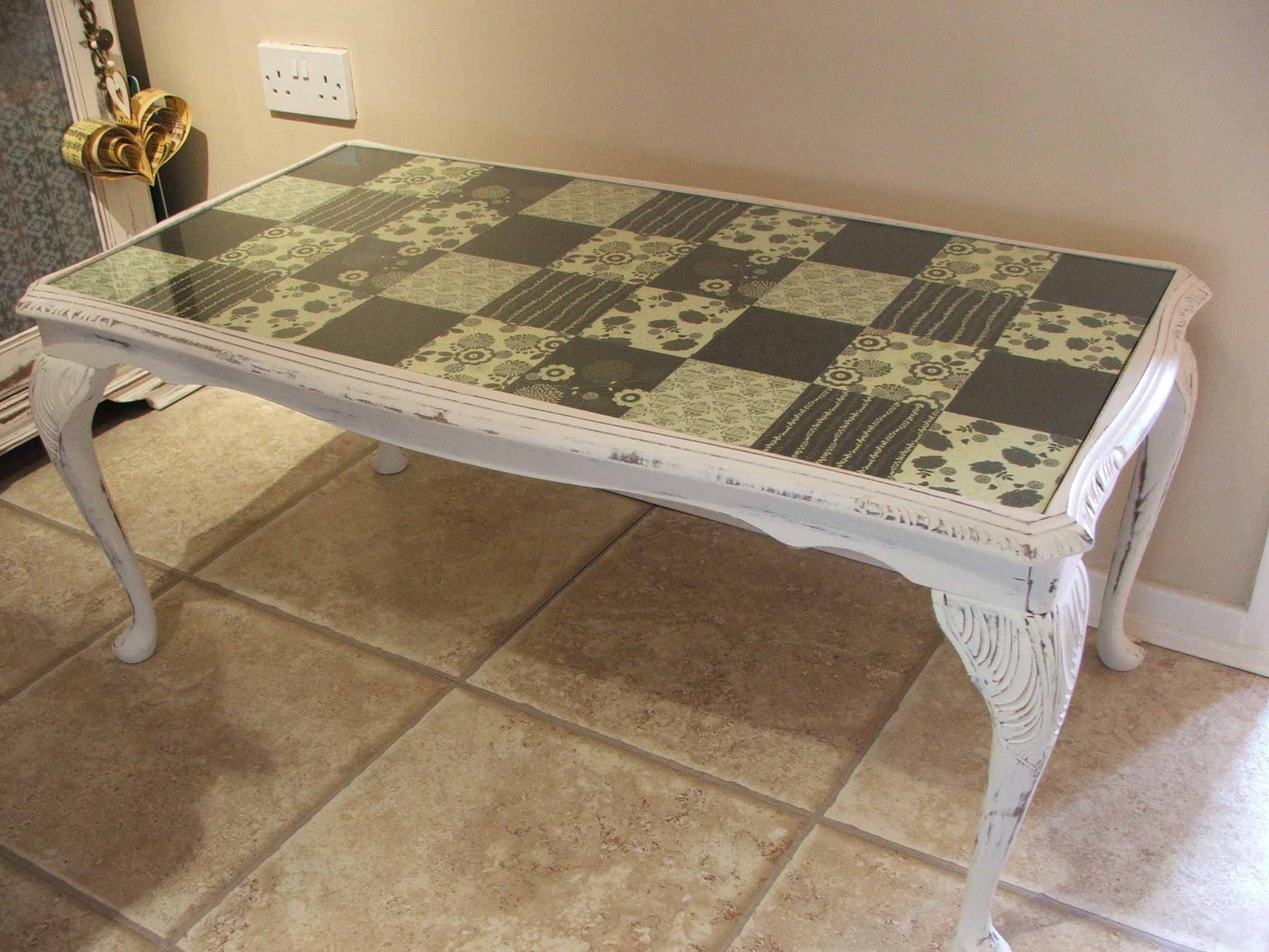 Upcycled Coffee Table Olde 2 Nu Pinterest