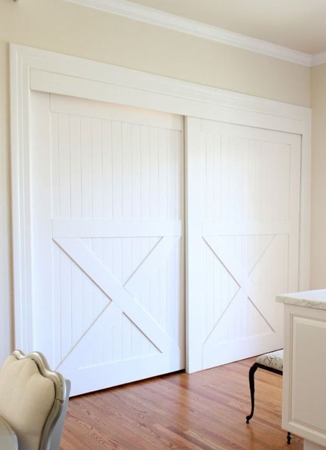 Bypass Closet Doors Decor Ideas Pinterest