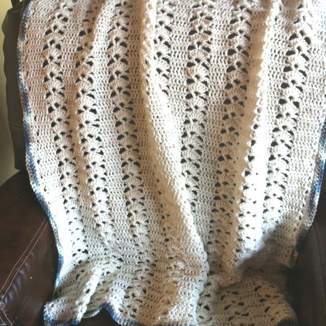 Quick And Easy Knitted Afghan Patterns : This is a quick and easy afghan. Knit and Crochet ...