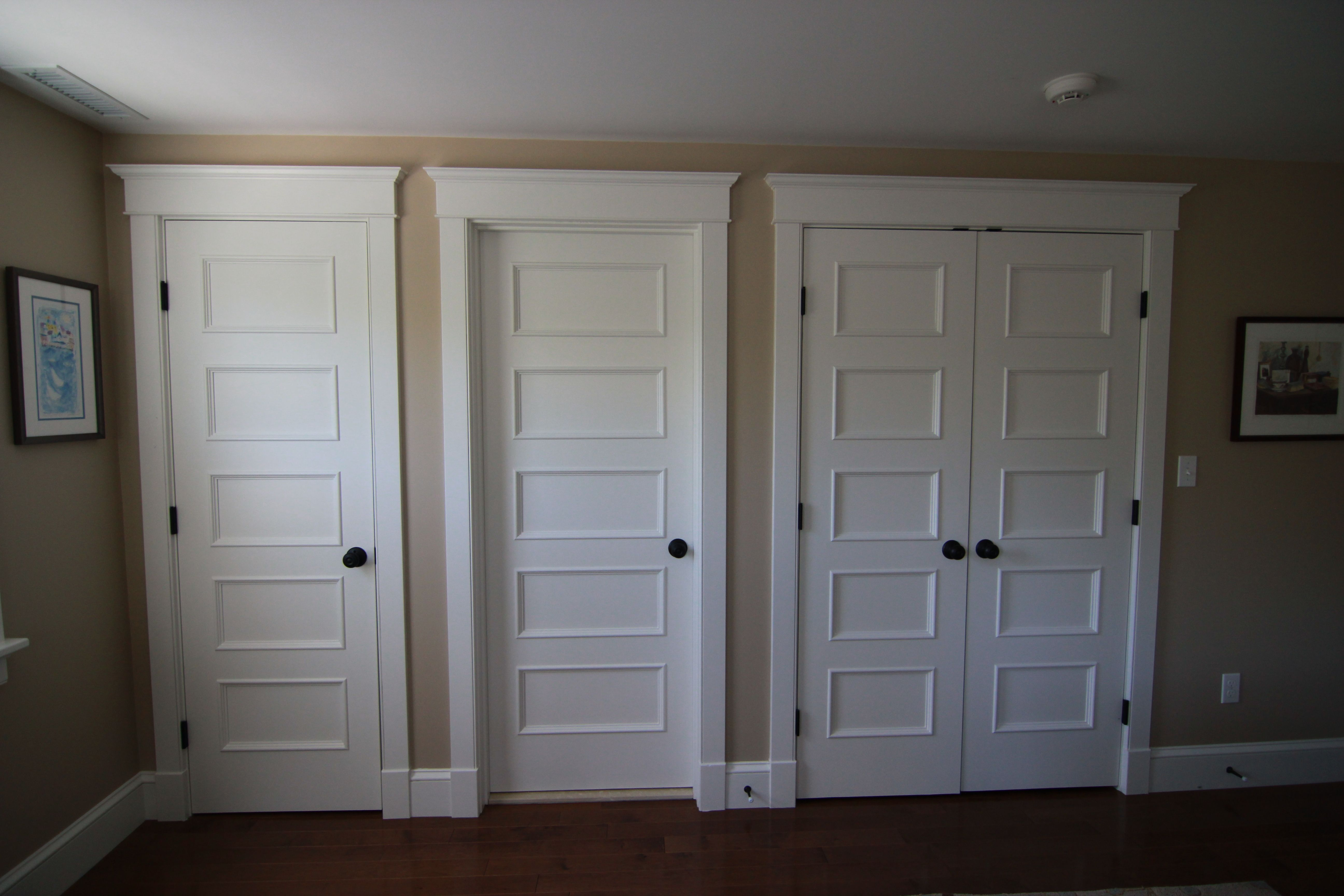 Closet Door Options Bedrooms Bedroom Industrial Chic Siding Closet