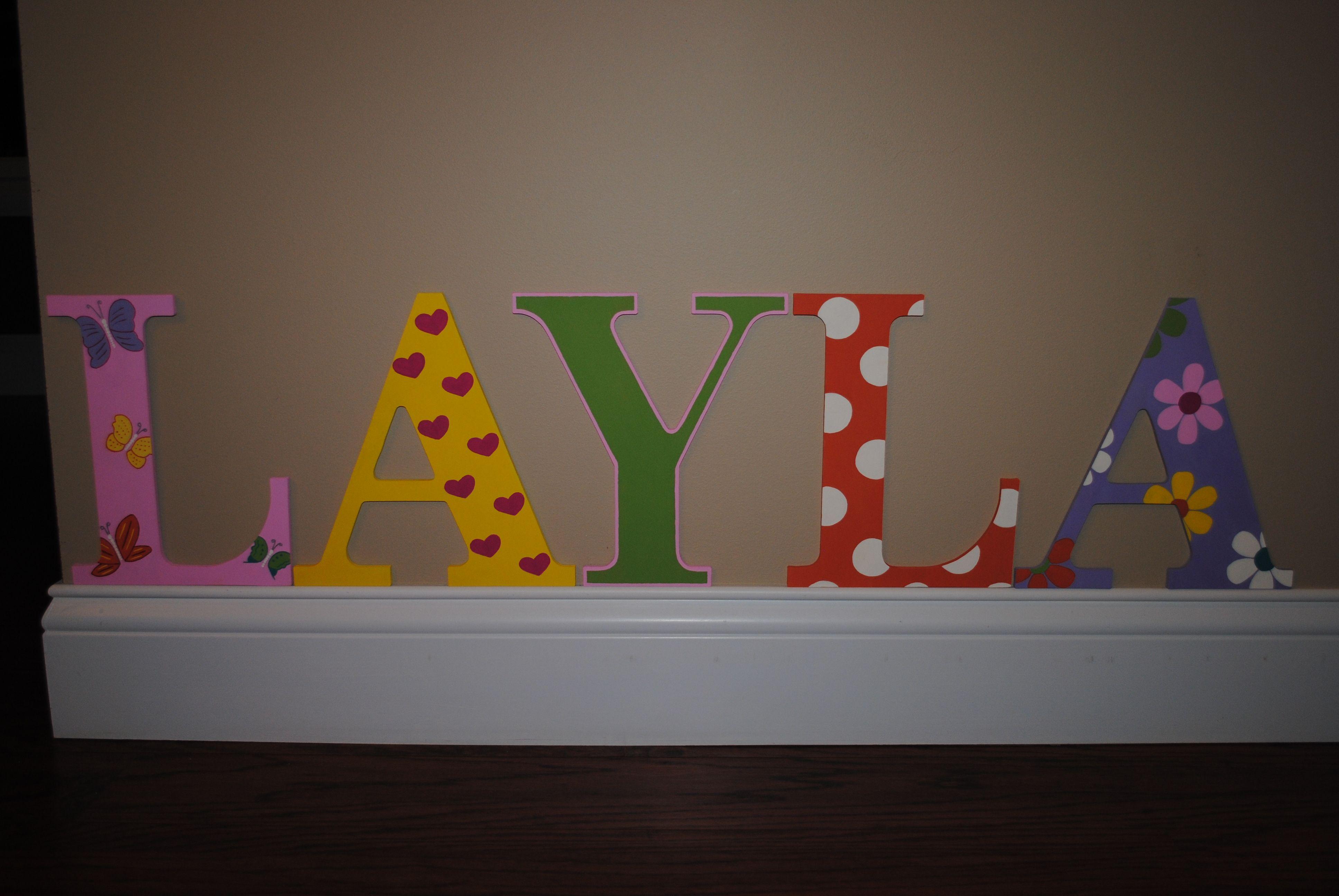 Decorative Wall Letters Pinterest : Decorative wall letters mismatch