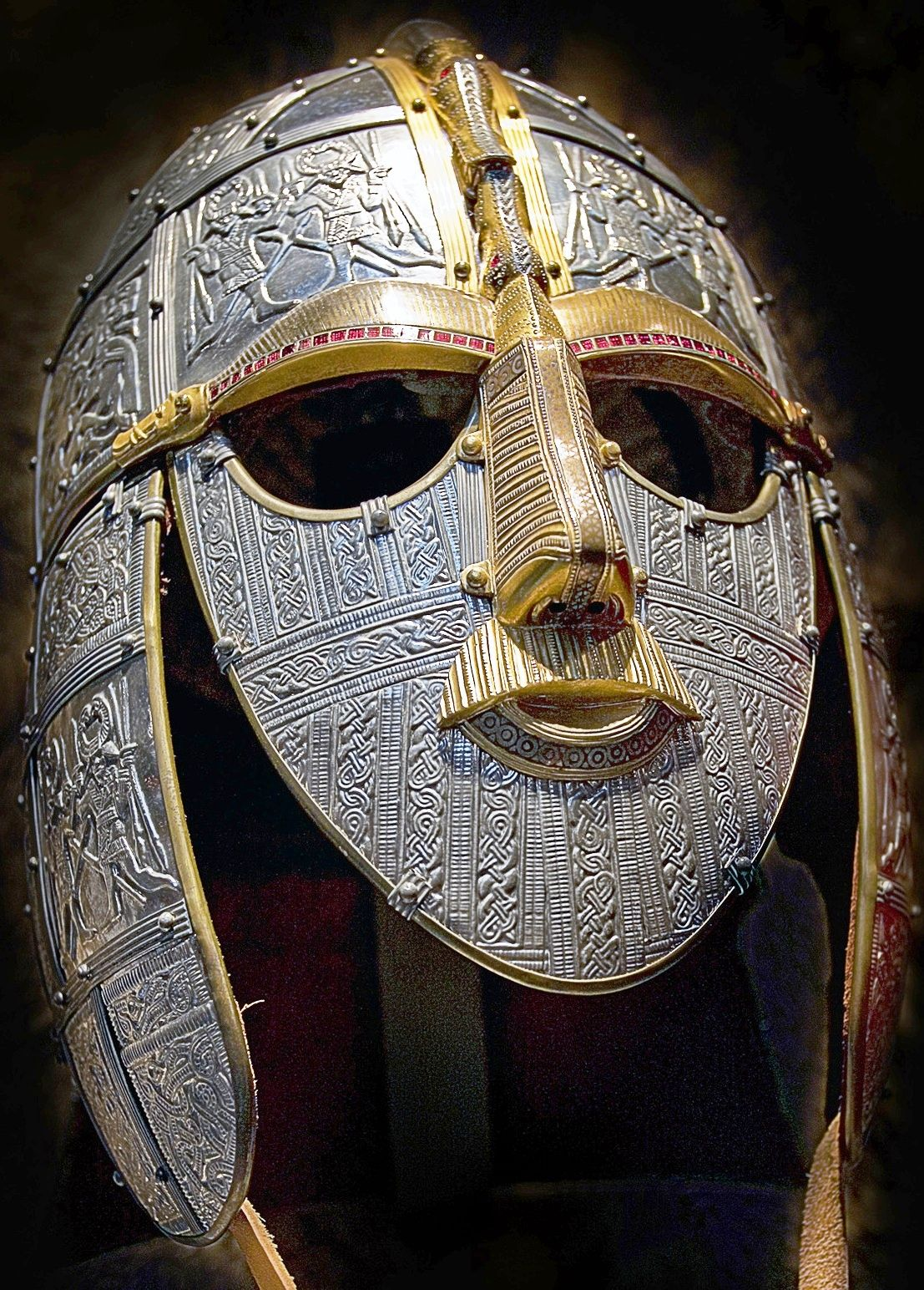 Sutton Hoo Helmet Reconstructed My Not So Secret