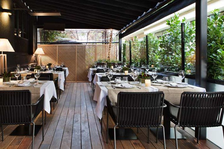 Terraza del NO. Restaurant - restaurante Madrid