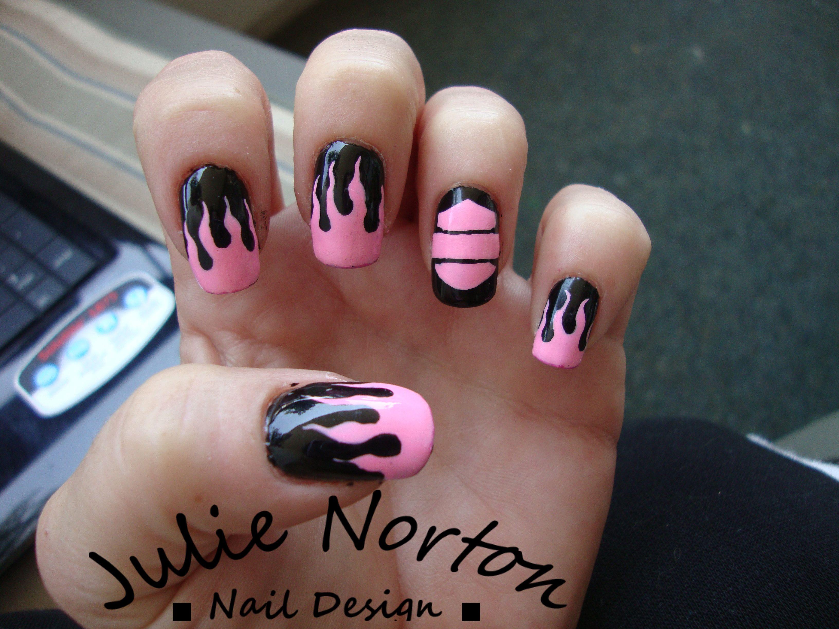 Harley Davidson Nails | Some of my Nail Art | Pinterest