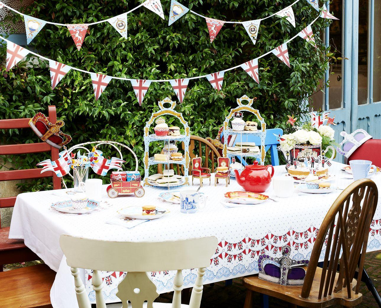 british garden tea party garden tea parties pinterest. Black Bedroom Furniture Sets. Home Design Ideas
