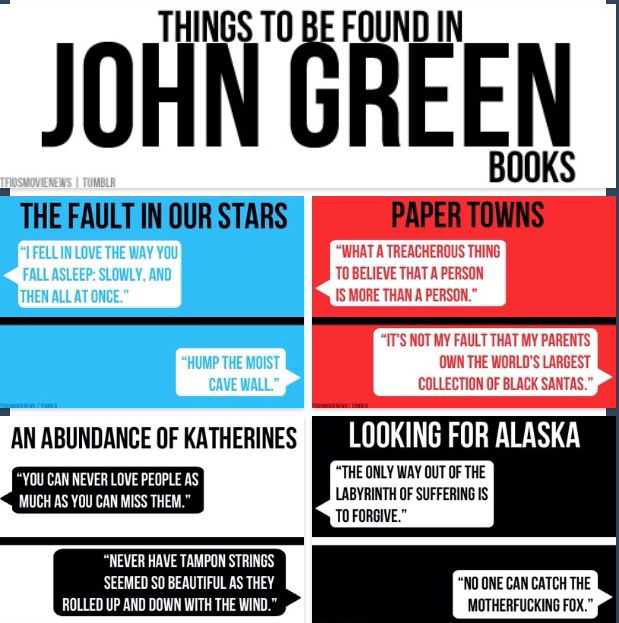quotes about books john green - photo #6