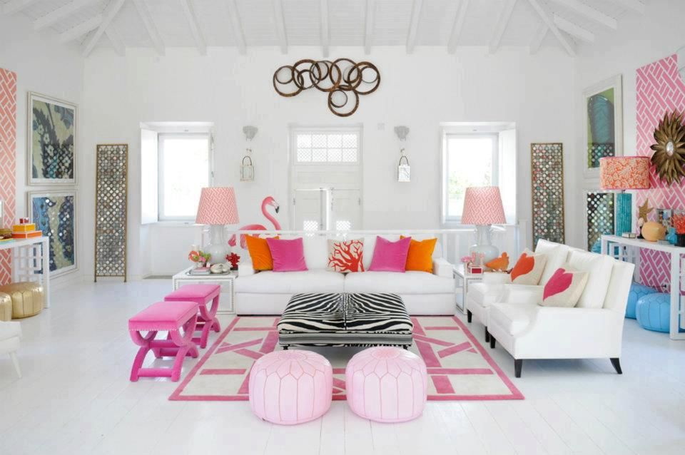 girly living room house ideas pinterest