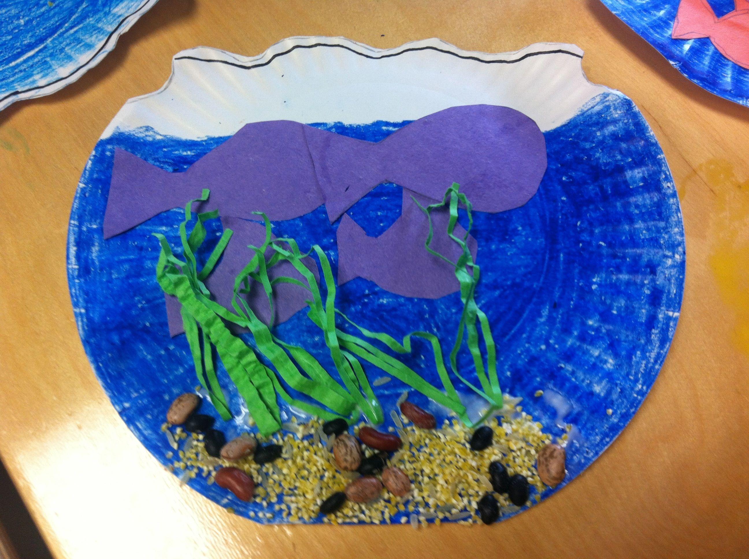 Fish bowl Preschool Or Kindergarten | PreSchool Crafts ...
