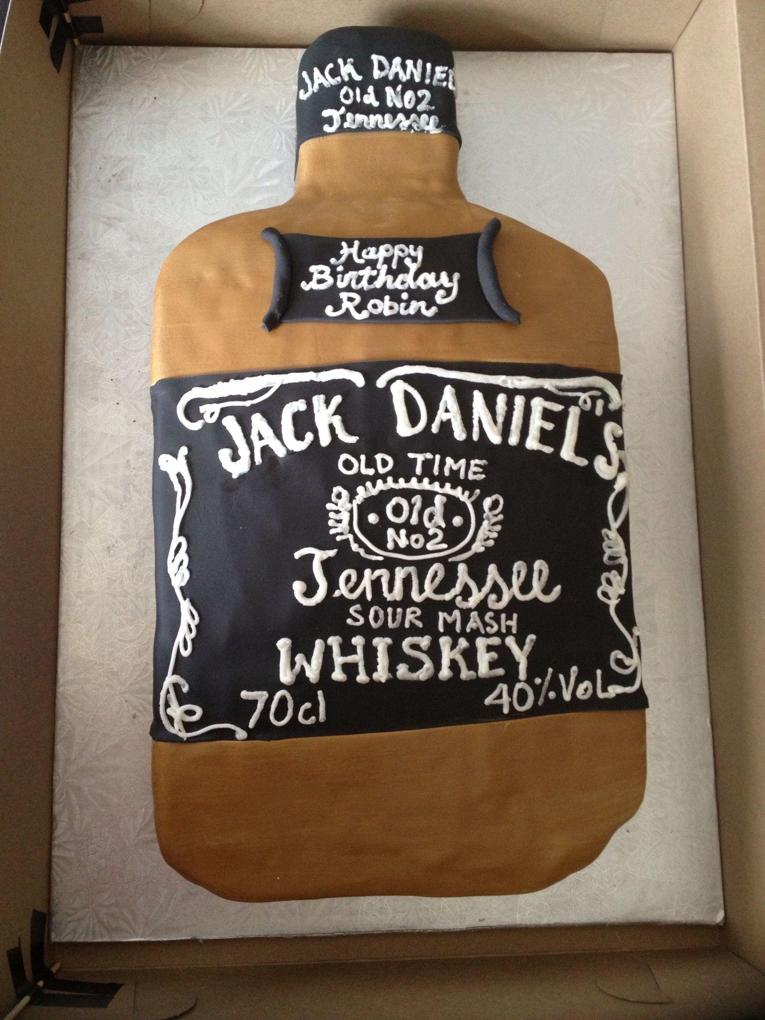 Jack Daniels Birthday cake  Birthday Cakes  Pinterest