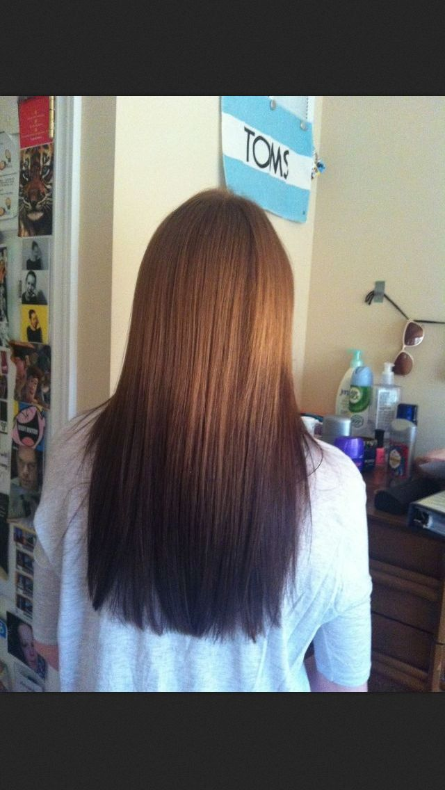 Reverse ombre |...