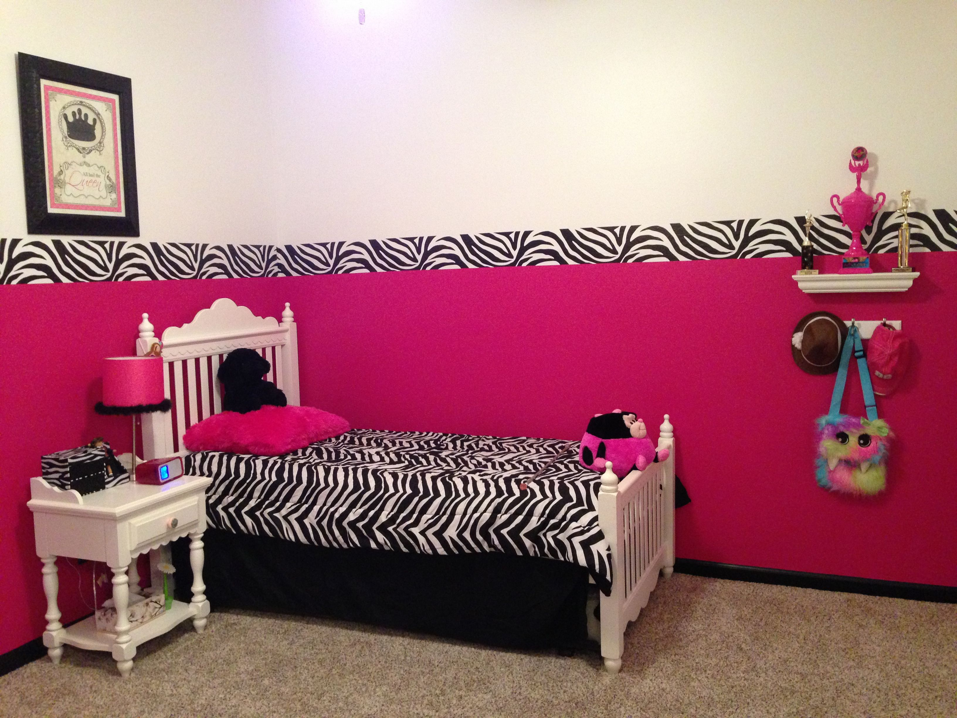Hot pink zebra room pink zebra room decorating ideas pinterest - Hot pink room ideas ...