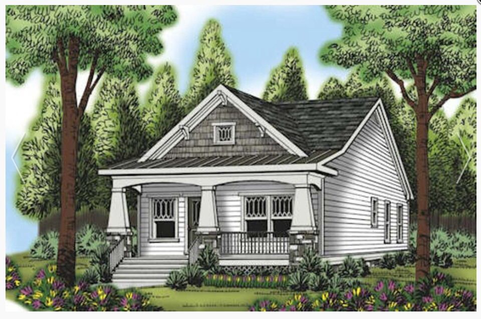 10 Amazing Historic Craftsman House Plans Building Plans
