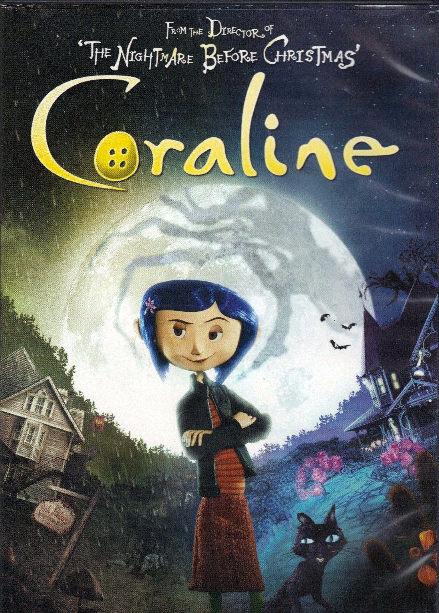 Coraline music movies books pinterest - Porta poster amazon ...