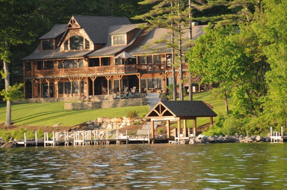 Lake House New England Dream Home Pinterest