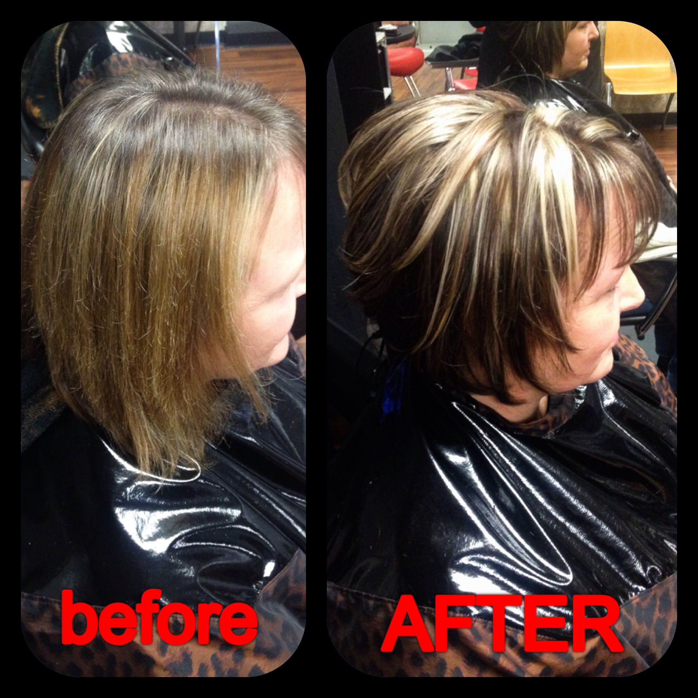 pictures of salt amp pepper hair with highlights