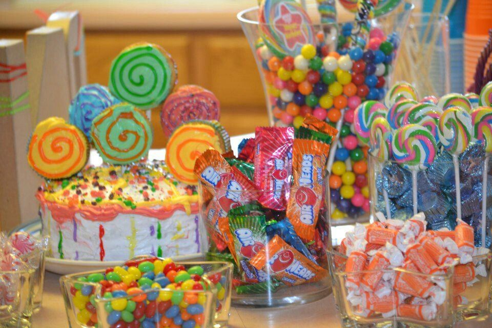 Candyland Theme Party Decorations Quotes