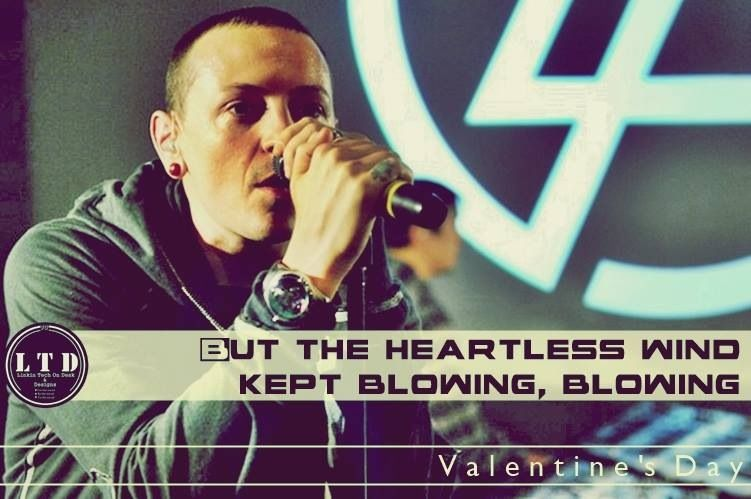 valentine day linkin park chords
