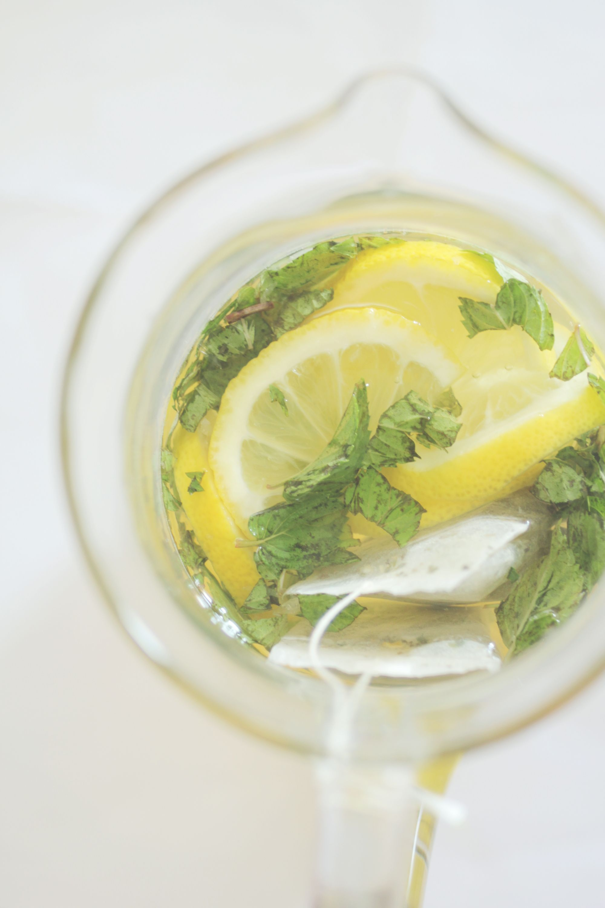 summer cooler - minty lemon green tea | Coffee Time/Tea Party ...